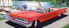 1959 Pontiac Bonneville Convertible: Art Fitzpatrick and Van Kaufman