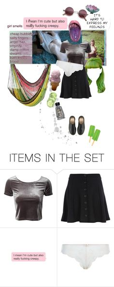 """""""Damp Cotton"""" by she-is-mystery ❤ liked on Polyvore featuring art"""