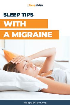 Is there a link between sleep and migraines? Find out tips and tricks to sleep better with a migraine. We are Sleep Advisor, the sleep experts! The best tips on how to have a well rested night, healthy sleep tips, sleep health hacks, product info & reviews for better sleep! Visit our website for our sleep health blog and to shop the best sleep aids available. #sleepbetter #wellness #bettersleep #migraines Ways To Sleep, How To Sleep Faster, Sleep Help, How To Get Sleep, Good Sleep, Sleep Better, Severe Insomnia, Treating Insomnia