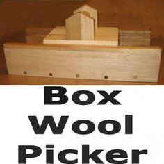 Download Box Wool Picker Plans - 11 x 17 (pattern is from Minnetonka Works)
