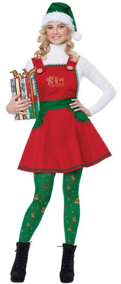 76197110c4de default-view Xmas Costumes, Christmas Elf Costume, Adult Costumes, Green  Santa,
