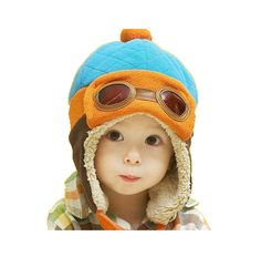 866df4830461 Cool Warm Baby Kids Toddler Boy Girl Winter Earflap Pilot Cap Aviator Hat  Beanie