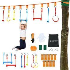 Ninja, Kids Obstacle Course, Work Gloves, Kits For Kids, Kids Hands, Training Equipment, Amusement Park, Outdoor, Entertaining