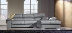 Sofá diseño gran comodidad extraíble reclinable brazo siesta multiposición - Mobelpark