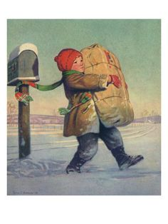 """""""Big Package for Christmas"""" 1928"""