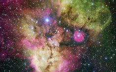 NGC 2467 Nebula wallpaper