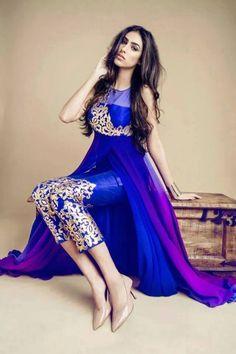 Beautiful royal blue suit