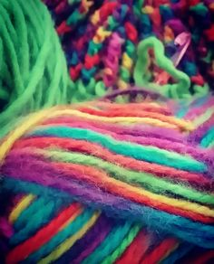#wool #colours #winterhat