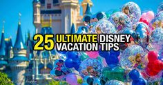 A Walt Disney World trip is one of the most memorable trips your family can take. Here are 25 tips to make your trip the very best experience ever! 1. Plan extensively Planning a Disney vacation requires a lot of organization and forethought prior to your trip. You must consider budget, dates, travel options and ...