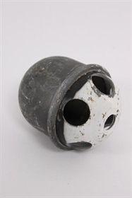 øvelseshåndgranat i metal uden krudt