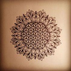 Blume des Lebens Mandala …