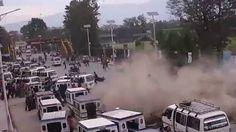 VISÃO NEWS GOSPEL: Vídeo mostra o momento exato em que terremoto atin...