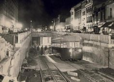 Dupont Circle Underpass Construction (1940s).