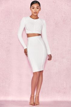 Our bandage fabric will sculpt and flatter your figure and the  Aduto  top  works just as well with a skirt as with pants. Felicita Tyner · Skirts 94d3c0d63547
