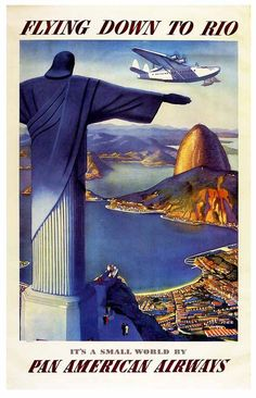 Another classic Pan Am Clipper era poster.