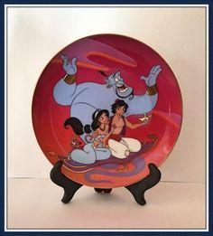 Disney Aladdin Plate The Magic Carpet Ride by bettysworld4u