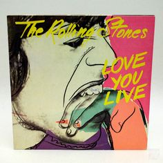 THE ROLLING STONES LOVE YOU LIVE LP - cyan74.com vintage and pop culture delivered from Switzerland
