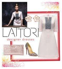 Lattori Dress by steffyyeah on Polyvore featuring polyvore, fashion, style, Lattori, Shaun Leane, Christian Louboutin and Kate Spade