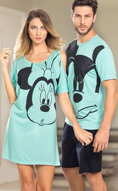 Fashion Forever: Men's Dressing Tips Couple Outfits, Disney Outfits, Night Outfits, Fashion Outfits, Pijama Disney, Couple Pajamas, Cute Sleepwear, Night Suit, Active Wear For Women