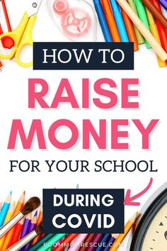Looking for easy fundraiser ideas during coronavirus? Use these 2 websites to create lucrative PTA fundraising ideas for elementary, high school and middle school while keeping a safe distance. Taking your elementary school fundraiser online can make raising money for your school, PTA or PTO easy and fun. Learn more at roommomrescue.com #easyschoolfundraiser #easyschoolfundraising #ptofundraising #ptafundraising Room Mom Letter, Letter To Parents, Make School, Middle School, High School, Teacher Appreciation Week, Teacher Gifts, Classroom Art Projects, School Fundraisers