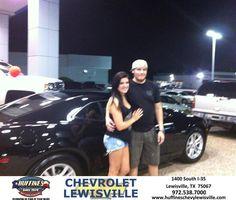 #HappyAnniversary to Alex Von Ehrenfried on your 2013 #Chevrolet #Camaro from Andy Hedric at Huffines Chevrolet Lewisville!