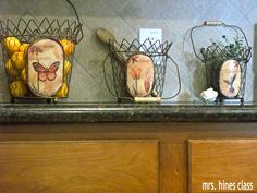french county kitchens | ... tiles to wheat colored baskets remind me to the french countryside  like these baskets