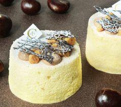 Angel cake « Marrons »