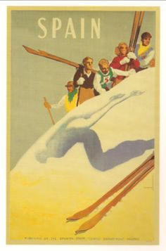 SPAIN. Travel Poster. By Josep Morell Macías.