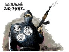 ISLAM DOES NOT 'DISCRIMINATE' | Jan. 8, 2014 Cartoon by Ed Hall