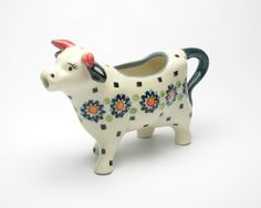 Polish Pottery - milk pitcher