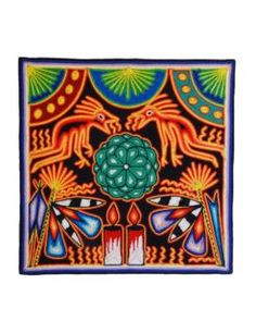 Huichol Art Art Archive, Indigenous Art, Totems, Folk Art, Deer, Delicate, Tapestry, Ceramics, Crafts