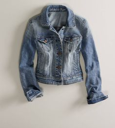 Will this be the year I give in and buy a denim jacket??? American Eagle...