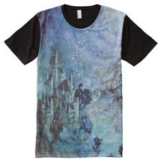 Shop Fairy Castle Full Print Tshirt created by NovyNovy. Personalize it with photos & text or purchase as is!