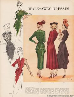 I have several vintage patterns, when a lady knew how to dress