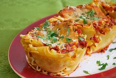 Lasagna Purses by ItsJoelen...blog What's Cookin' Chicago