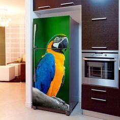 Fototapeta na lodówkę - Papuga | Fridge wallpaper - Parrot | 51,60PLN #fototapeta #fototapeta_lodówka #dekoracja_lodówki #wystrój_kuchni #dekoracja_kuchni #bambusowy_las #dekoracja #papuga #photograph_wallpaper #fridge_wallpaper #fridge_decor #fridge_design #kitchen_decor #kitchen_design  #fridge_decor #parrot #design #decor