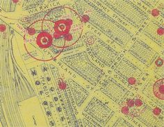 Photo:Enlarged area from the Westminster Bomb Map