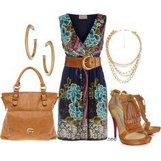 """""""Paisley and Tan """" perfect for a spring"""