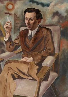 George Grosz, The Author Walter Mehring, 1925