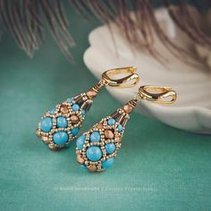 Серьги «Oriental Fabergé» Коллекция «Fabergé». Серьги из жемчуга Swarovski и…