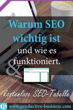 finance website design warum-seo-wichtig-ist-und-w - finance Inbound Marketing, Affiliate Marketing, Facebook Marketing, Internet Marketing, Content Marketing, Logo Facebook, Web Social, Social Media, Seo Blog