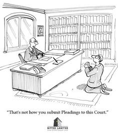 """That's not how you submit pleadings to this Court"""
