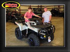 Thanks to Barry Phillips and Turner Jones from Millry AL for getting a 2017 Can-Am Outlander XT 850. @HattiesburgCycles