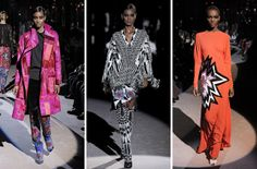 Making Sense of Tom Ford's Over-the-Top Cartoon Glam Rock Fall Collection
