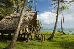Bungalow at Derick's, Little Corn Island.  Corn Islands, Nicaragua