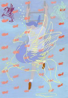"""Underwater"" by shohei morimoto, 2013"