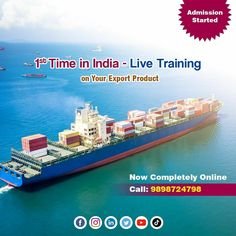 Enrol for Upcoming Life changing Exim Batch of 29th June.  Drop Your Number in comment box to know more.   #eximbatch #onlineexim #newbatch #DigitalExim #exportimport #import #export #importer #exporter #incoterms #trade #transportation #freightforwarding #entrepreneur #exportquality #exporting #importexport #overseas #warehouse #importing #customduty  #globalmarket #exportproduct #shipping #logistics #internationalmarketing  9505506333 | www.digitalexim.com New Digital Camera, India Live, Business Requirements, Times Of India, Global Market, Learning Tools, Life Changing, Workplace, Warehouse