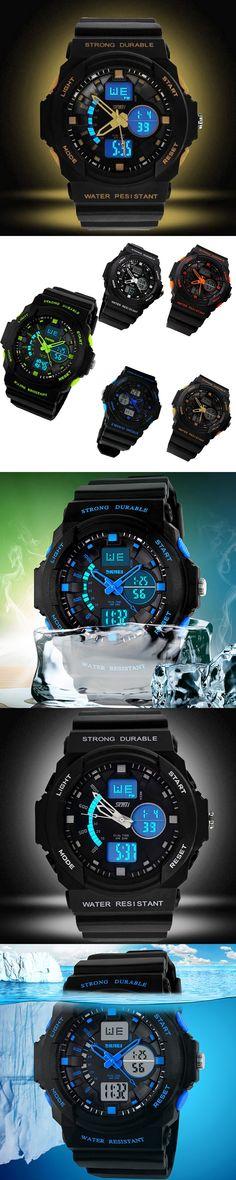 2017 New Arrival SKMEI Digital LED Display Sports Watches For Men Women Kids Quartz Sport Multifunctional Wristwatches