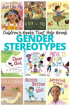 There is no such thing as a boy book or a girl book. Books are for everyone! Kids should be able to grow up and follow their own dreams, not one that society thinks they should pursue based on their gender. We have been adding several books to our collection over the past few years that help break gender stereotypes and I want to share some of our favorites with you. Books For Boys, Childrens Books, Newton Boys, Growth Mindset Book, Books About Kindness, Philosophy Books, Gender Stereotypes, Literature Circles, Book Organization