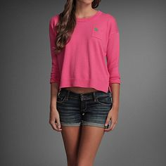 Abercrombie & Fitch Pink Tori Pullover
